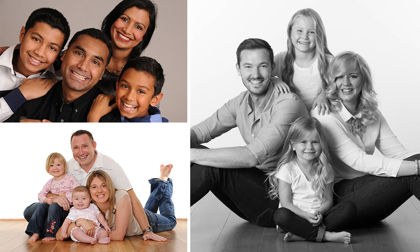 Family photography experience