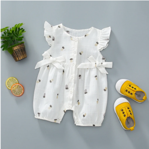 Pineapple Bow Bodysuit